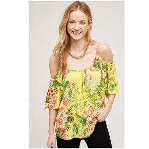 Anthropologie Tai Off the Shoulder Tee NWOT Top Sm